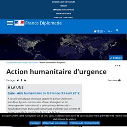 Action humanitaire d'urgence