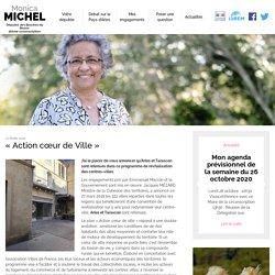 « Action cœur de Ville » - Monica Michel, Députée des Bouches du Rhône