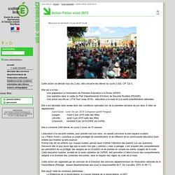 Action Piéton avisé 2015