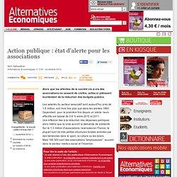 Action publique: état d'alerte pour les associations