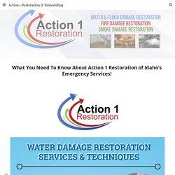Action 1 Restoration & Remodeling - Idaho