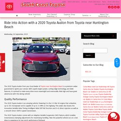 ride-into-action-with-a-2020-toyota-avalon-from-toyota-near-huntington-beach