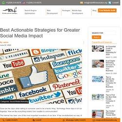 Best Actionable Social Media Strategies - Midriff Info Solution