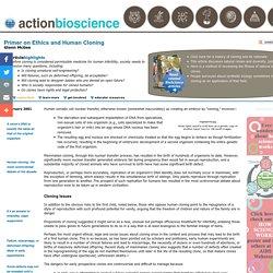 ActionBioscience - promoting bioscience literacy