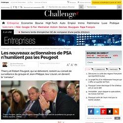 Les nouveaux actionnaires de PSA n'humilient pas les Peugeot