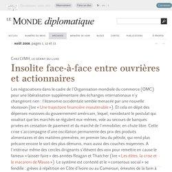Insolite face-à-face entre ouvrières et actionnaires de LVMH, par François Ruffin (Le Monde diplomatique, août 2008)