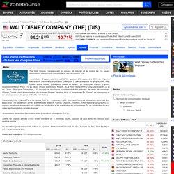 WALT DISNEY COMPANY (THE) : Actionnaires Dirigeants et Profil Société