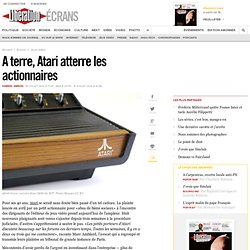 A terre, Atari atterre les actionnaires