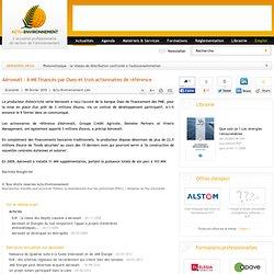 Aérowatt : 6 M€ financés par Oseo et trois actionnaires de référence
