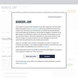 Profil société Netflix, activité, actionnaires et dirigeants de l'entreprise NFLX - US64110L1061 - Boursier.com