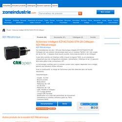 Actionneur intelligent EZYACT4240-STH-28-CANopen - actionneur avec variateur et moteur intégrés