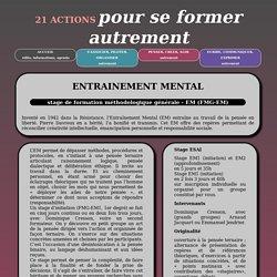 21 actions Pour se former autrement - Accueil