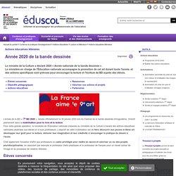 Actions éducatives littéraires - Année 2020 de la BD