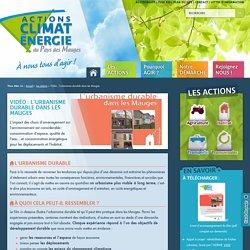 Actions Climat Energie du Pays des Mauges - L'urbanisme durable dans les Mauges