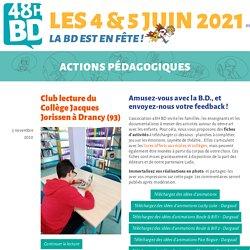 Actions pédagogiques - 48H BD