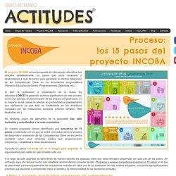 Grupo Actitudes - Proceso del Proyecto INCOBA