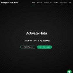 Setup and Activate Hulu account on Roku - Hulu-comactivate.com
