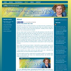 ACTIVATE THE POWER OF YES! Beverly Molander