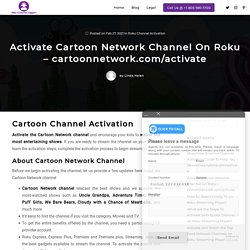 Activate Cartoon Network on Roku