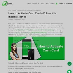 How to Activate Cash Card – Follow this Instant Method