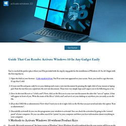 Get help with Windows activation errors