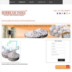Activated Alumina Balls in Arsenic Fluoride Removal