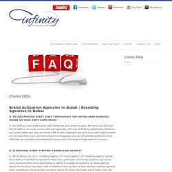 Brand Activation Agencies in Dubai