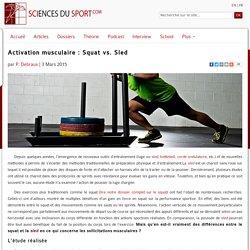Activation musculaire : Squat vs. Sled