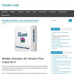 WinRar Activator Any Version With Final Crack Plus Beta [windows + Mac]