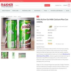 Milo Active Go Milk Calcium Plus Can 240ML