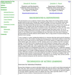 Active and Coopeative Learning