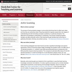 Derek Bok Center for Teaching and Learning