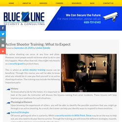 Active Shooter Training: What to Expect