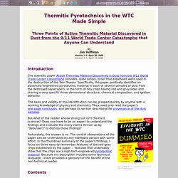 Active Thermitics Made Simple