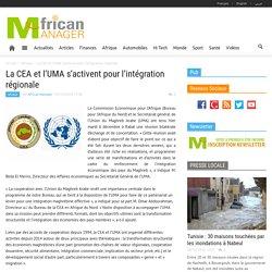 La CEA et l'UMA s'activent pour l'intégration régionale
