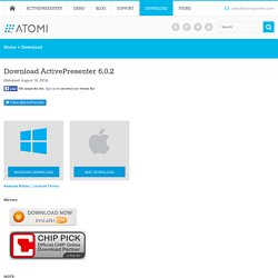 Download - ActivePresenter - Screen Recording & Interactive ELearning Authoring Software