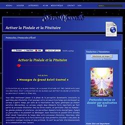 Activer la Pinéale et la Pituitaire