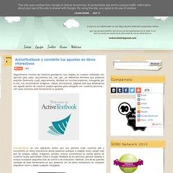 ActiveTextbook y convierte tus apuntes en libros interactivos