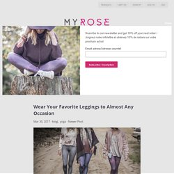 Wear Your Favorite Leggings to Almost Any Occasion