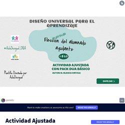 Actividad Ajustada AD-ALUMNADO AYUDANTE by blancaortega.roldan on Genially