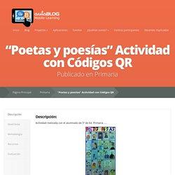 """""""Poetas y poesías"""" Actividad con Códigos QR"""