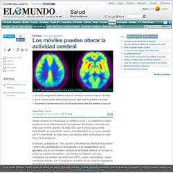 Los móviles pueden alterar la actividad cerebral