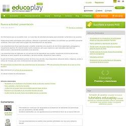 Nueva actividad: presentación - Artículo del Blog