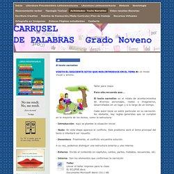 Actividades- Texto Narrativo - Página web de carruseldepalabras