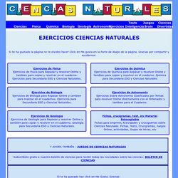 Actividades de Ciencias Naturales