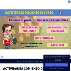 ACTIVIDADES COMIENZO DE CURSO by Marcos Ordiales on Genially
