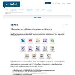 Educaplay: actividades educativas multimedia Red Infod