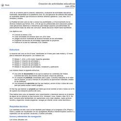 D73. Guía. Creación de actividades educativas con JClic
