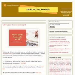 Libros gratis de economía en pdf