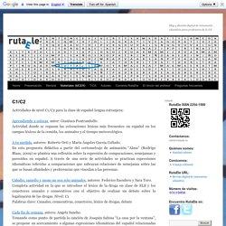 C1/C2: actividades para la clase de español lengua extranjera (ELE)